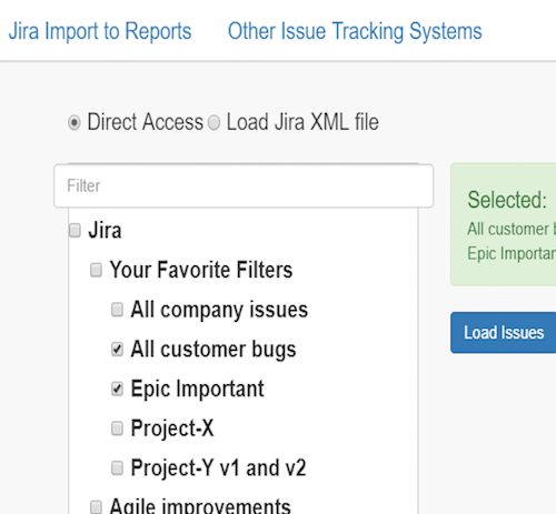 direct Jira support